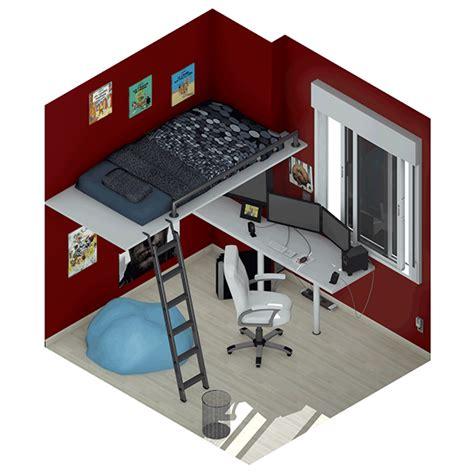 isometric view of bedroom my bedroom isometric 3d on behance