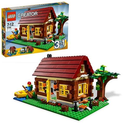 lego log cabin lego 5766 log cabin lego lego construction toys at