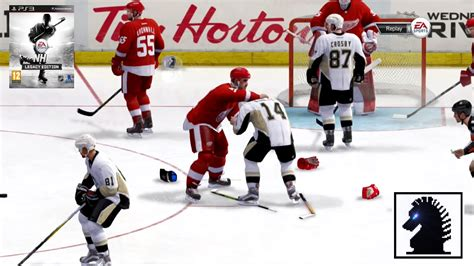 nhl 15 x360 ps3 gameplay xbox 360 720p take a look ps3 nhl legacy edition detroit red wings vs pittsburgh