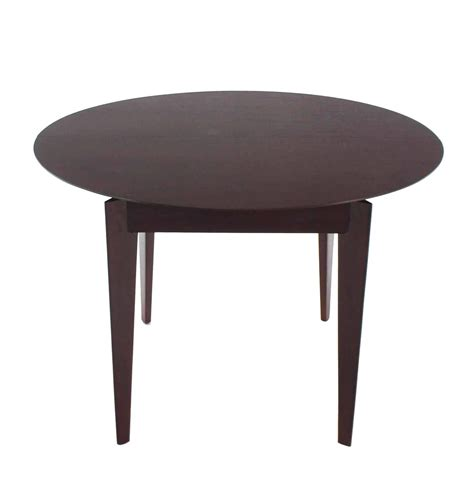 frau modern round dining table mid century modern round dining table for sale at 1stdibs
