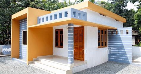 kerala home design 700 sq ft 700 square feet 2 bedroom kerala style low budget home