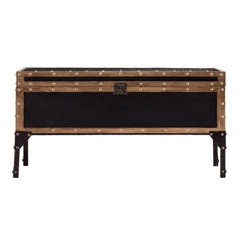 Trunk Coffee Table Black Southern Enterprises Drifton Travel Trunk Coffee Table In Black Ebay