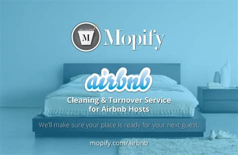 airbnb help announcing our airbnb cleaning turnover service mopify