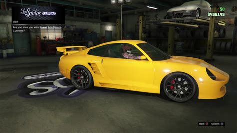 yellow porsche lil pump lil pump s car in gta v youtube