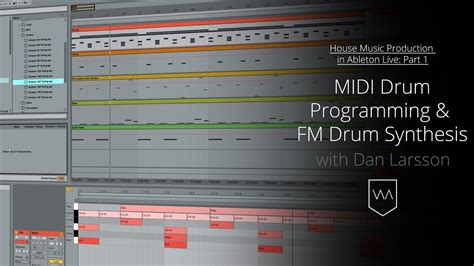 house music production house music production in live midi drum programming