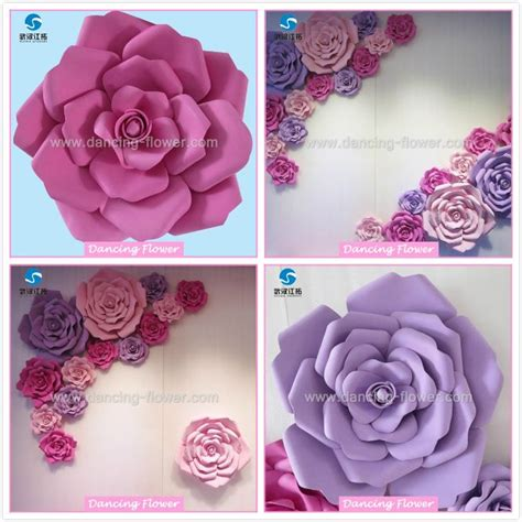 Beautiful Handmade Paper Flowers - 1000 ideas about backdrops for weddings on