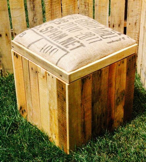 ottoman wood woodworking diy wood crate ottoman plans pdf download free