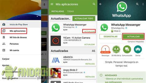 tutorial para renovar whatsapp gratis actualizar whatsapp paso a paso