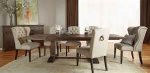 hudson rustic java 5 formal dining set rustic