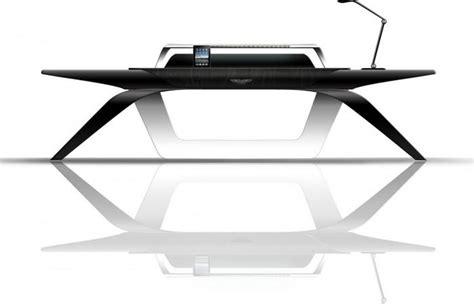 furtif desk is a striking futuristic piece of furniture desk design is this