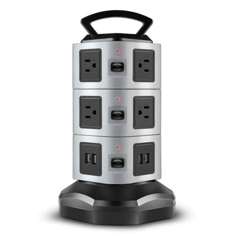 l with usb charging port power strip with usb surge protector 10 outlet 4 usb port