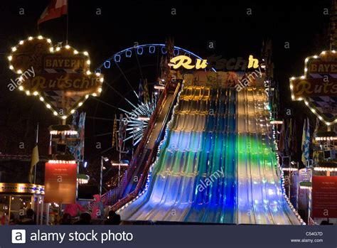 themes park in london the slide at winter wonderland an annual christmas fair