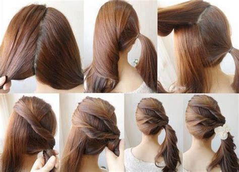 hairstyle diy 60 simple diy hairstyles for busy mornings