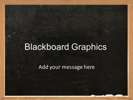 templates powerpoint blackboard blackboard graphics template