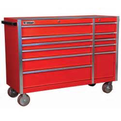 Harbor Freight Roller Cabinet Coupon 56 In 11 Drawer Glossy Red Industrial Roller Cabinet