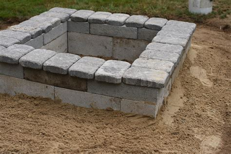 concrete block pit upgrade your garden with 20 diy pits for and