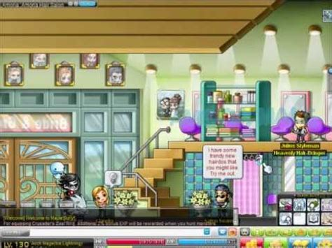 Maplestory Hair Salon | maplestory gms salon rev up to date vip hair