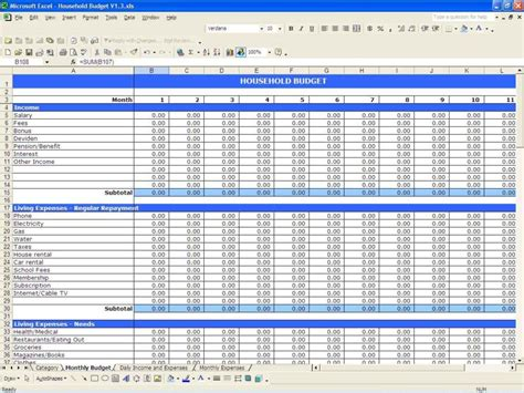free financial spreadsheet templates spreadsheet templates budgets budget spreadsheet