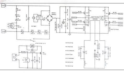 welder inverter diagram inverter welder circuit board