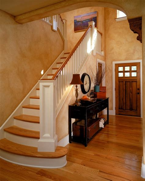staircase decor cool ideas for entry table decor homestylediary com