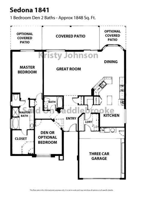 villas of sedona floor plan floor plans for saddlebrooke sold on saddlebrooke long