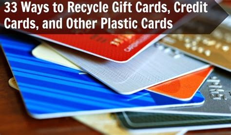 how to make plastic cards diy crafts 33 ways to recycle gift cards credit cards