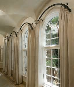 Curved Curtain Rod For Bow Window arched window curtain rod arch window curtains to choose depend on