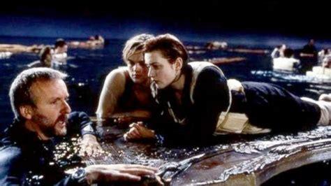 film titanic behind the scenes james cameron defends jack s death in titanic ending