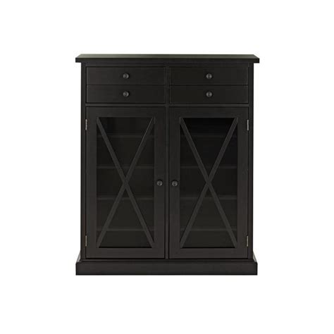 home decorators cabinets home decorators collection hton black storage cabinet
