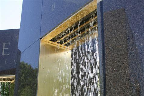 rain curtain fountain lehigh university rain curtain delta fountains