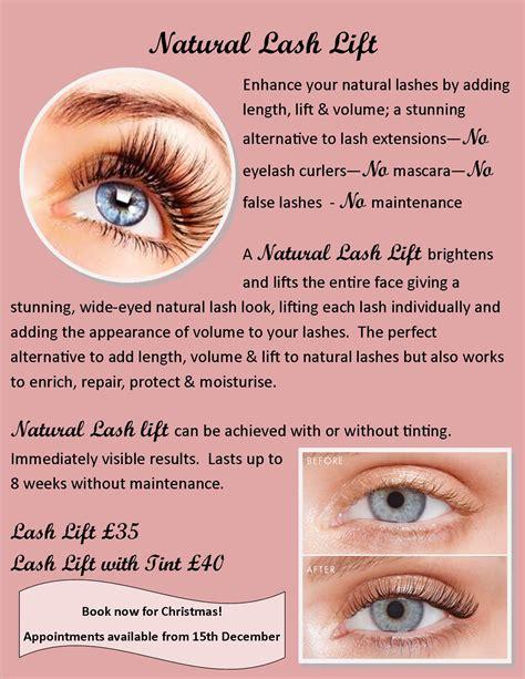 natural lash lift natural touch therapy blackburn