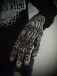 black henna tattoo ink henna style black ink of identic tribal