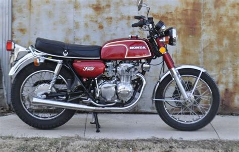 1973 honda cb350 four 2 year only motorcycle lot t243 buy honda cb350 four 1973 un restored on 2040 motos