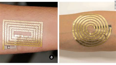 smart tattoos this that controls a smartphone may be a glimpse of