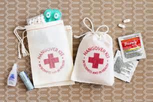 Hangover Kit Favor by Putting Together A Bachelorette Hangover Kit Trueblu