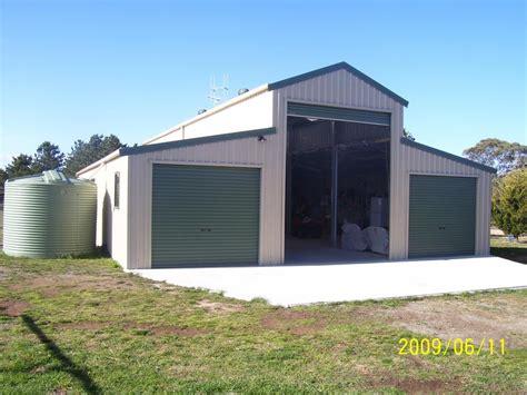 Australian Barn Sheds by Ricmatt Garages Fairdinkum Sheds Canberra Mitchell