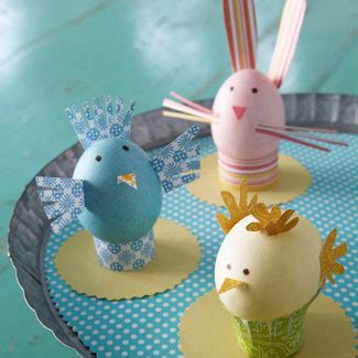Paper Easter Crafts - easter decoration and crafts for dinterior