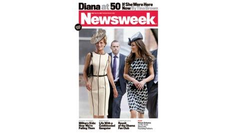 Newsweek Diana At 50 by Newsweek Cover Imagines Princess Diana At 50 Ctv News