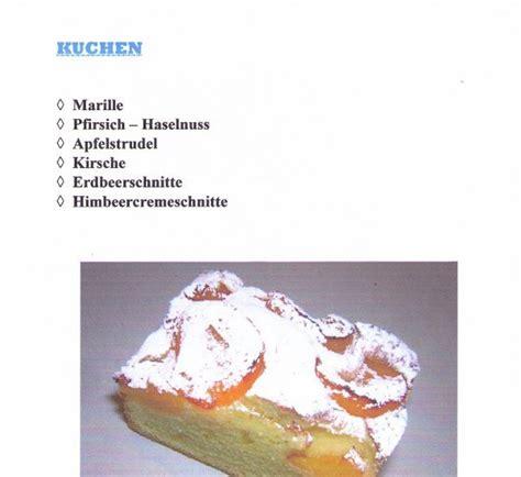 stärke kuchen mehlspeisen pichlwanger b 228 ckerei cafe