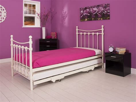 pull out trundle bed santa fe 3ft single bed with pull out trundle bed option