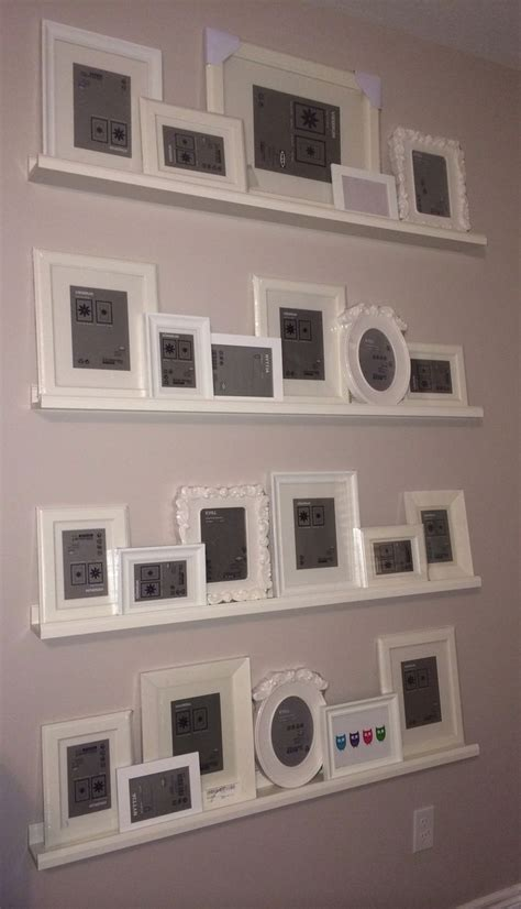 ikea photo ledges 25 best ideas about ikea gallery wall on pinterest ikea