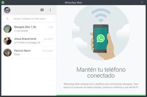 tutorial para instalar whatsapp web c 243 mo instalar whatsapp web en chrome con m 243 viles ios de