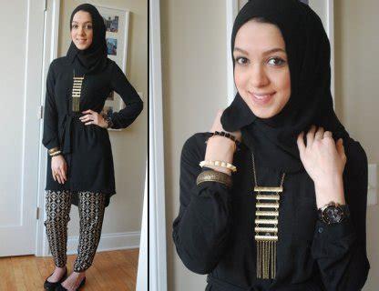tutorial hijab dengan aksesoris kalung buat gayamu makin oke dengan 6 aksesoris kalung hijab