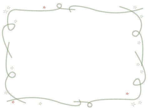 free picture border templates cliparts co