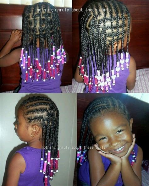 braid hairstyles for black women with a little gray cute cornrows box braids and beads hair pinterest