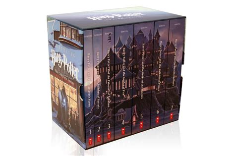 harry potter illustrated box finally the new harry potter and the deathly hallows 15th