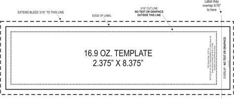 Water Bottle Label Size Template Great For Making Your Own Printables Fonts Signs Etc Small Water Bottle Label Template