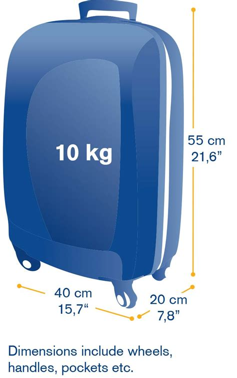 cabin dimensions carry on baggage icelandair
