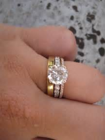 wedding and engagement rings put a ring on it weddingbee