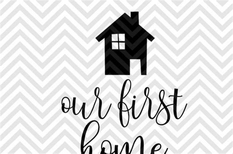 our first home picmia our first home christmas ornament svg and dxf cut file